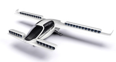 All-electric Lilium Jet is able to lift up vertically and its wing creates necessary lift during cruise flight. Image: www.lilium.com.